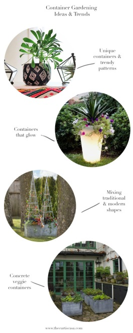 container garden ideas from the curtis casa