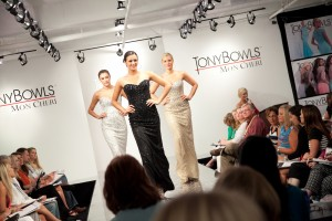 Tony Bowls Fashion Show at Mon Cheri Showroom At AmericasMart