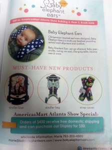 Baby Elephant Ears ad in AmericasMart Magazine