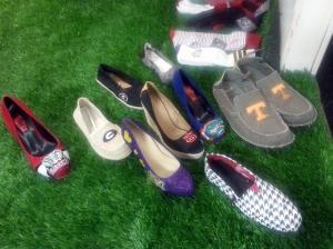 Alma Mater shoes at Atlanta Apparel