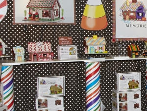 Cottage Products booth at AmericasMart Atlanta