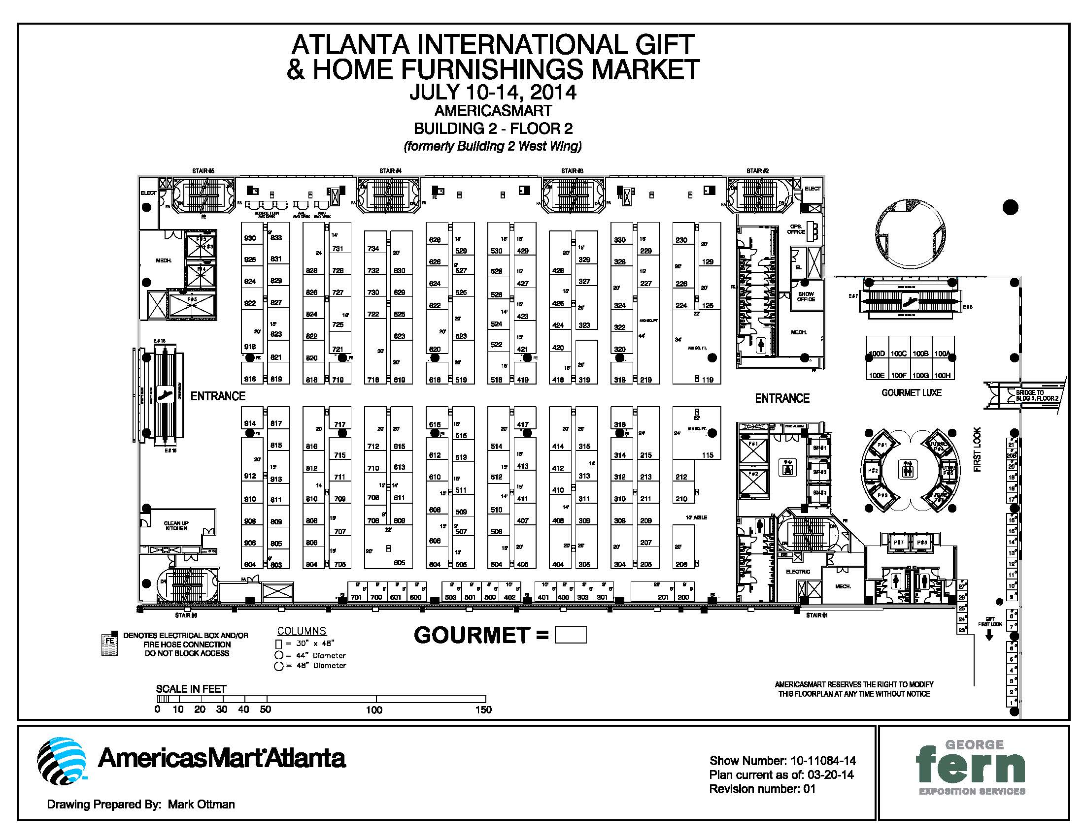 Atlanta gift mart floor plan gift ftempo for Trade show floor plan design