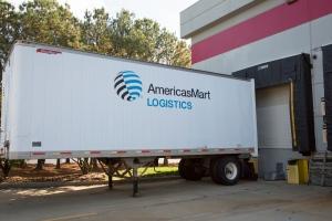 AmericasMart Logistics truck