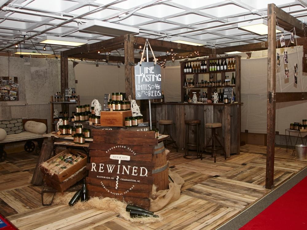 Rewined booth at AmericasMart Atlanta