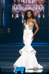Miss GA evening gown