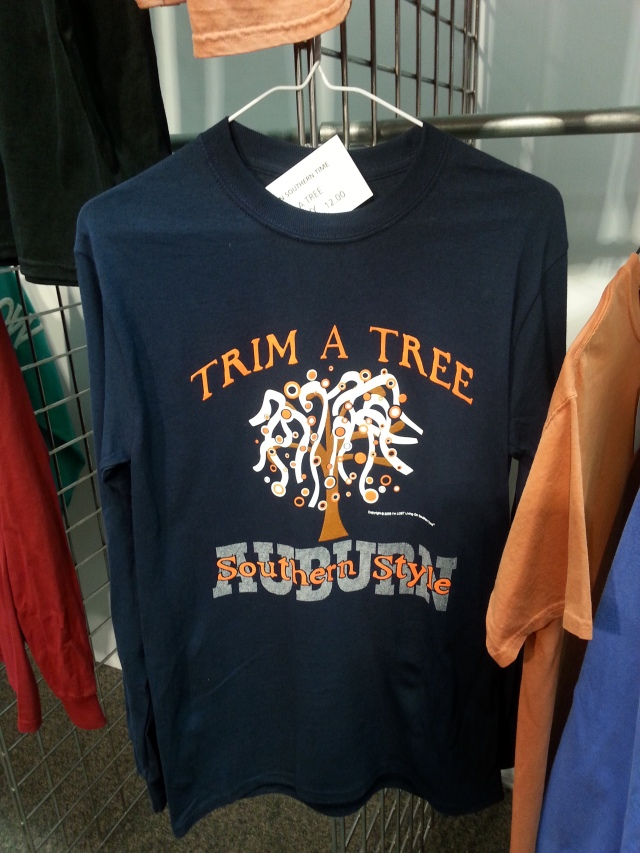 Southern Snow Auburn University shirt at Atlanta Apparel - AmericasMart.com