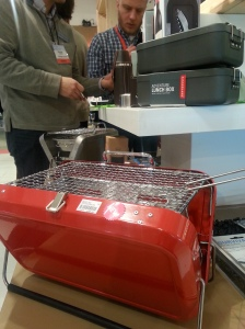 Kikkerland portable grill at AmericasMart Atlanta