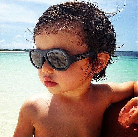 Nick & Vanessa Lachey's son, Camden, sports Babiators
