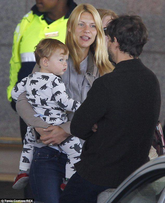 Claire Danes' son Cyrus in Hatley