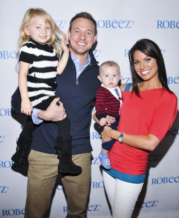 The Bachelor's Melissa Rycroft's son, Beckett, wearing Robeez shoes