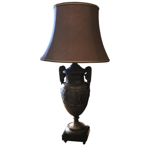 Antique lamp from Kenny Ball Antiques