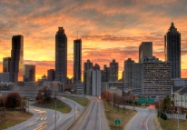 Atlanta-Downtown-Skyline-East-Dusk